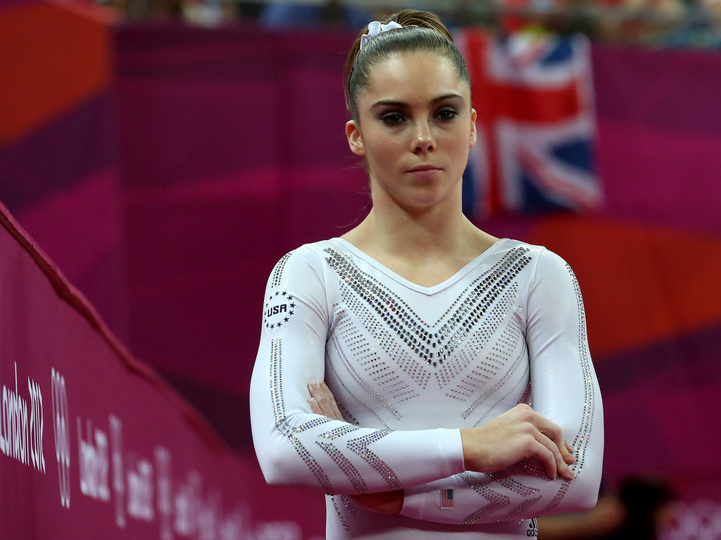 McKayla Maroney, seen during the 2012 Summer Olympics in London.
