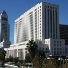 The 1930's-era Federal Courthouse in downtown L.A. is scheduled to be replaced by 2016.