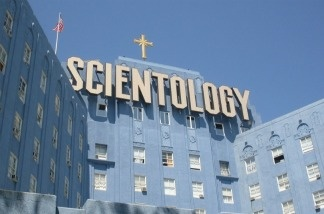 Scientology building in Hollywood, CA.