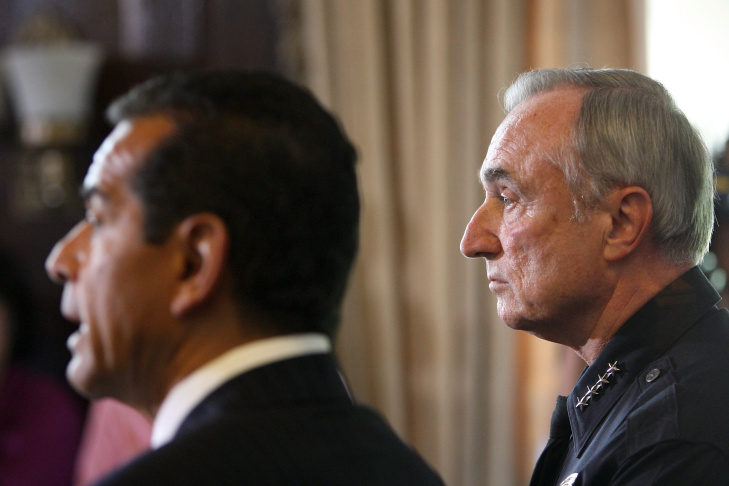William Bratton Resigns As Chief Of LAPD