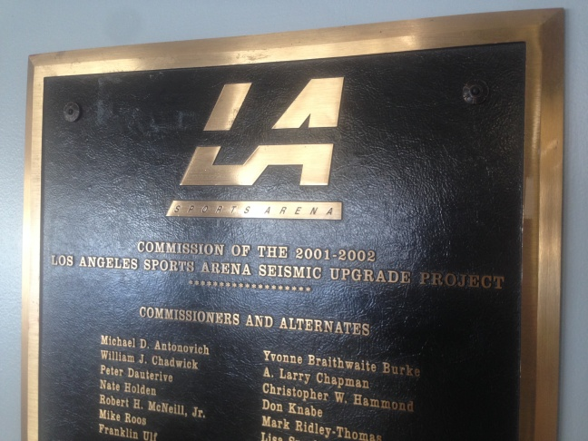 The Los Angeles Memorial Sports Arena