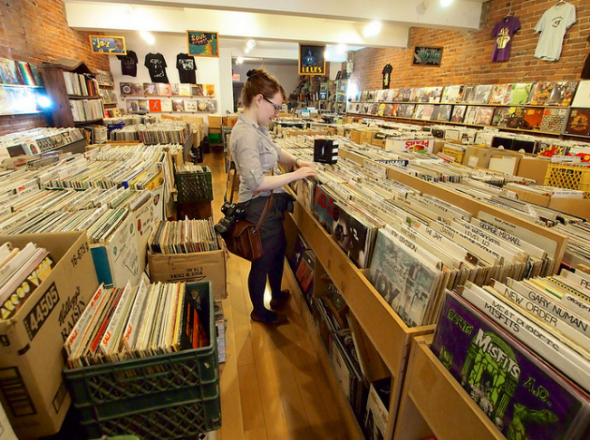 Vinyl Records store, Gastown.
