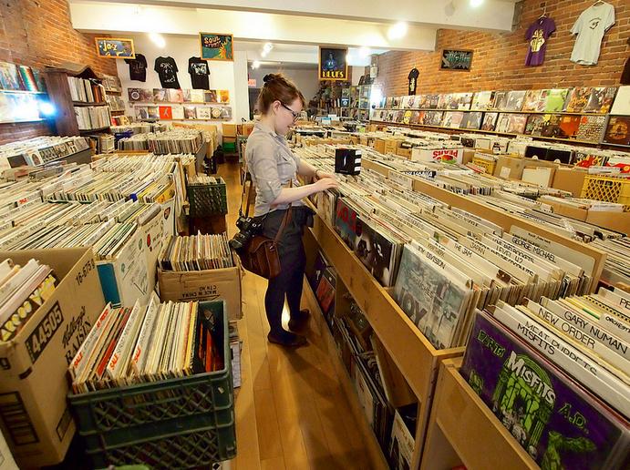 7 Great Vinyl Record Shops In Socal Map 89 3 Kpcc