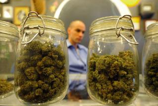 A medical marijuana dispensary in Los Angeles.