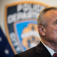 Mayor De Blasio And Police Chief Bratton Discuss Police Training