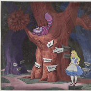 Alice in Wonderland Cel