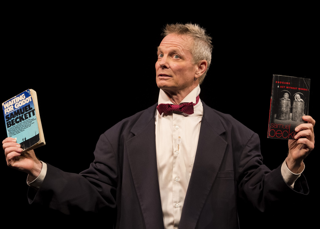 """Bill Irwin conceived and performs the solo show, """"On Beckett."""""""