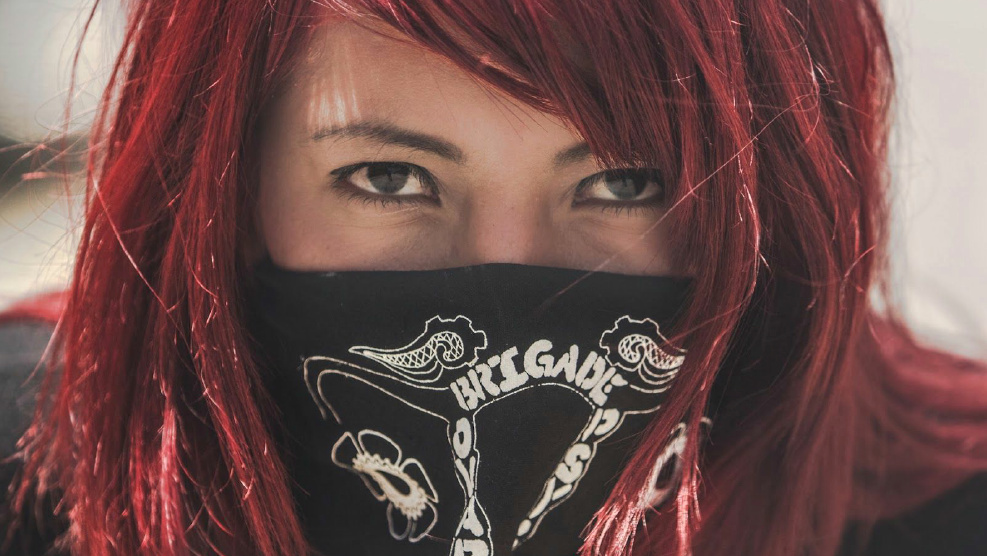 The Ovarian Psycos are an all-women of color bicycle collective that ride to address issues of community, gentrification, and violence against women.