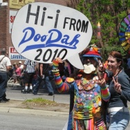 Attendees of the annual Pasadena Doo Dah Parade.