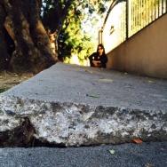 Jenny Loi's sidewalk