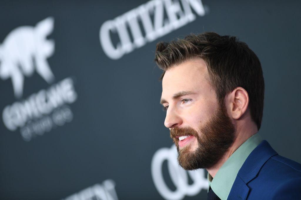 US actor Chris Evans arrives for the World premiere of Marvel Studios'