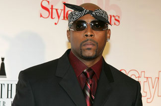 Musician Nate Dogg arrives at Life & Style Magazine's Stylemakers 2005, a runway show and charity auction held at Montmartre Lounge on May 26, 2005 in Hollywood, California.