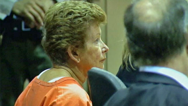 Lois Goodman pleaded not guilty to murder in an L.A. courtroom Wednesday.