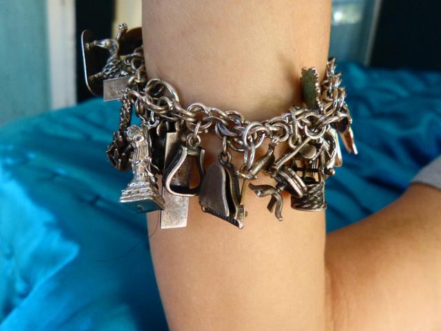 jill sobule charm bracelet