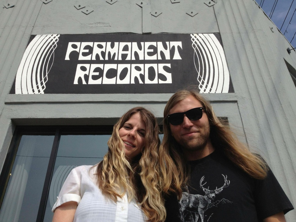 Liz Tooley and Lance Barresi, co-owners of Eagle Rock's Permanent Records.
