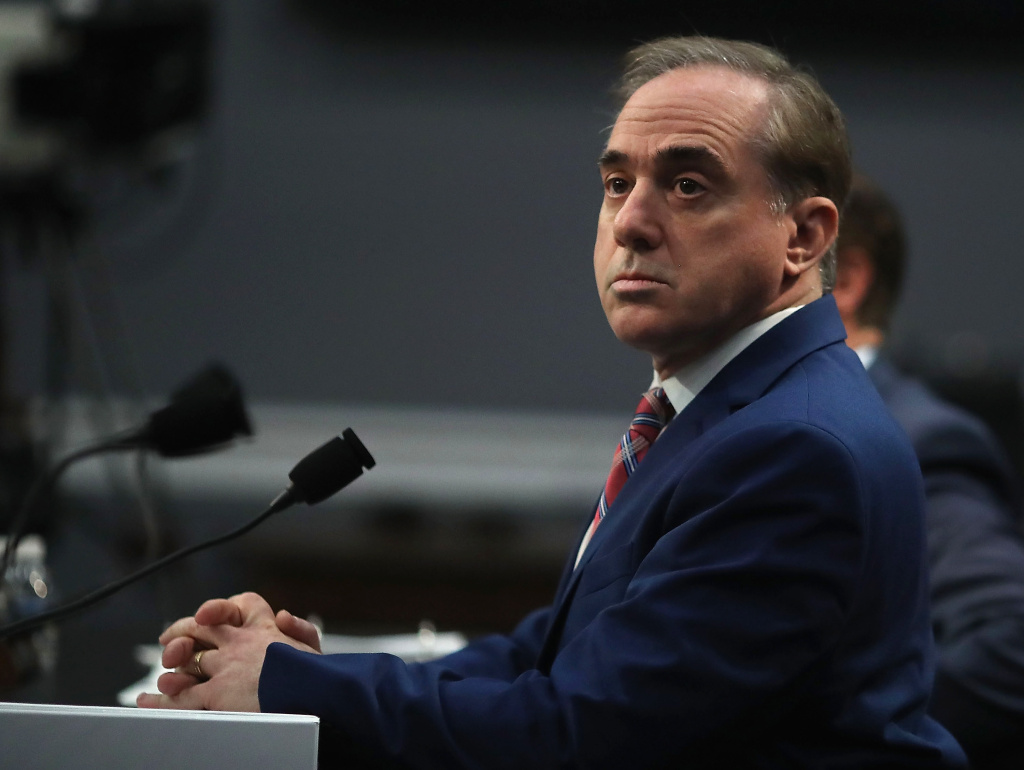 WASHINGTON, DC - MARCH 15:  Veterans Affairs Secretary David Shulkin appears before the House Appropriations Subcommittee on March 15, 2018 in Washington, DC.