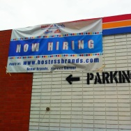 Hostess Twinkie Plant Sign