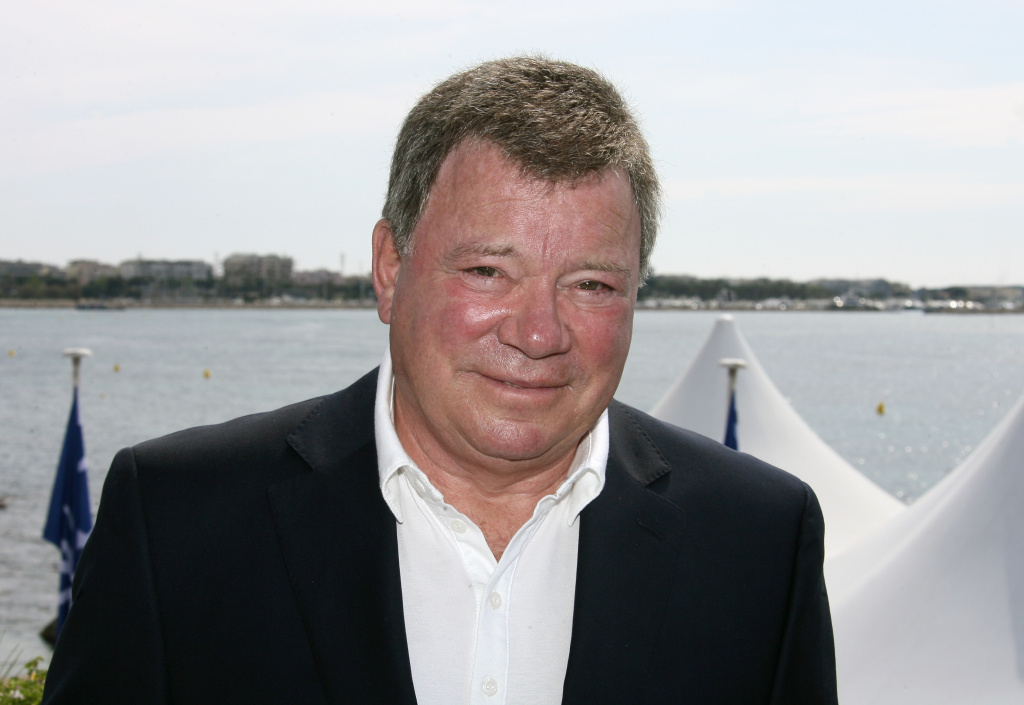William Shatner in Cannes, southern France.
