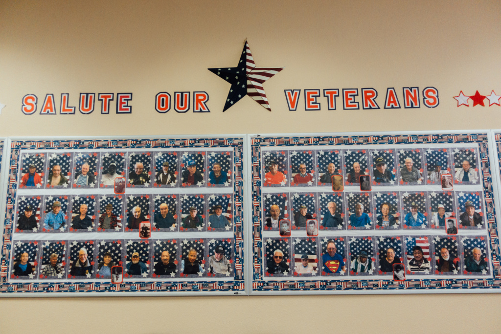 Oxnard Family Circle's veteran participants.