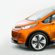 Chevy's all-electric Bolt is expected to have a range of some 200 miles and a price tag around $30,000.