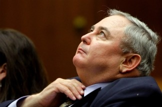 Former Bell City Manager Robert Rizzo during his preliminary hearing at Los Angeles Superior Court on Feb. 23, 2011.