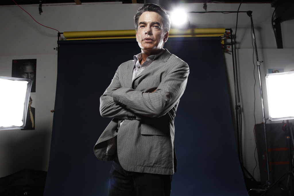 Actor Peter Gallagher, from