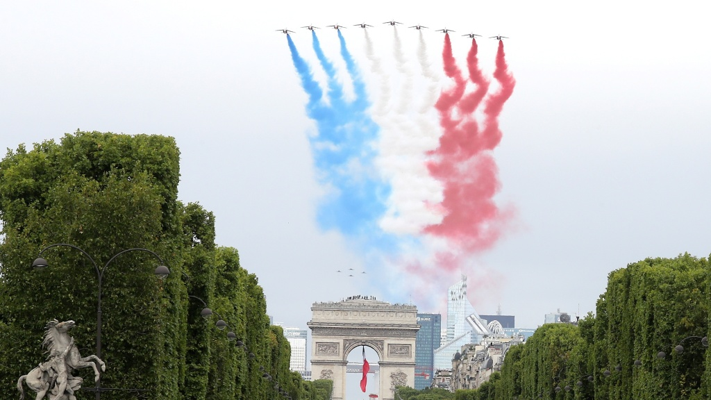The French elite acrobatic flying team