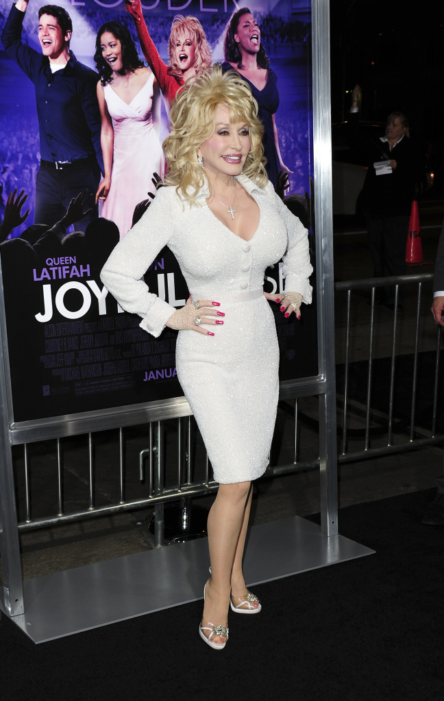 Cast member Dolly Parton arrives at the world premiere of