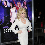 Cast member Dolly Parton arrives at the