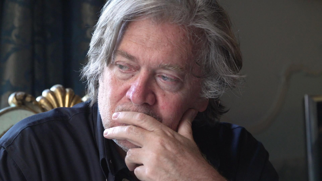 Steve Bannon is the subject of