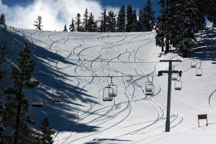 Mountain High Ski Resort following Friday's storm