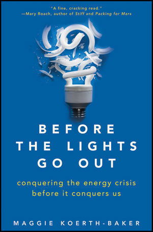 Maggie Koerth-Baker's new book on how to tackle the energy crisis.