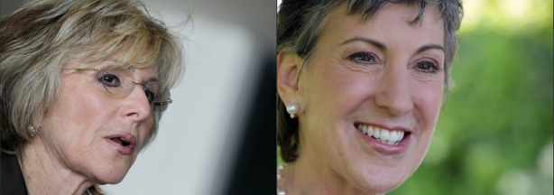 The race is on between Barbara Boxer and Carly Fiorina.