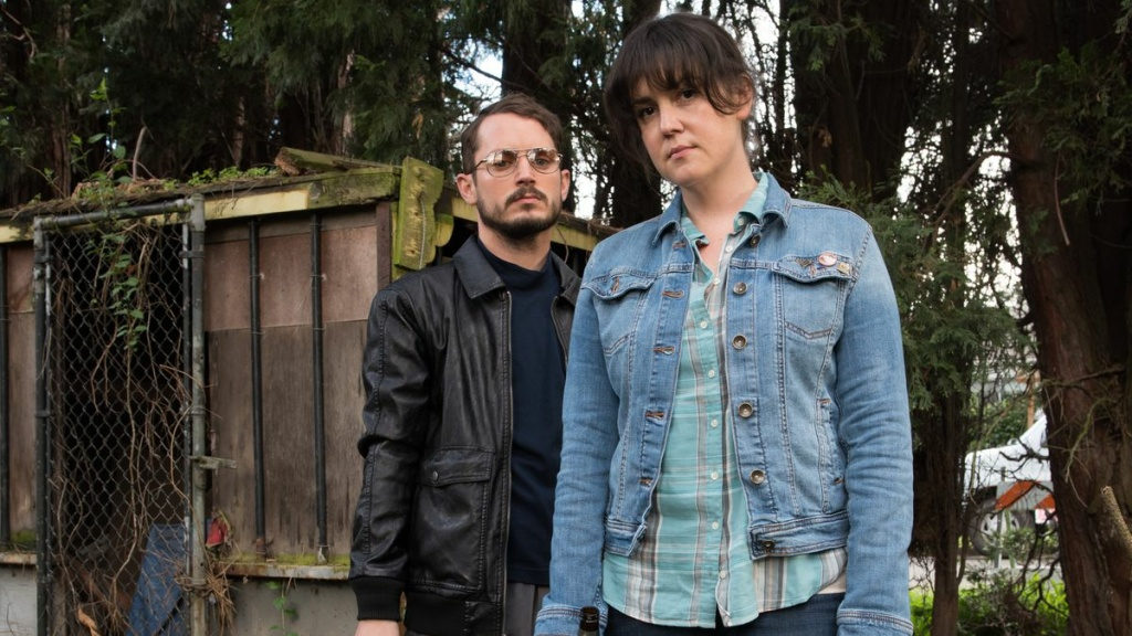 Still from the Netflix original film,  I Don't Feel at Home in This World Anymore