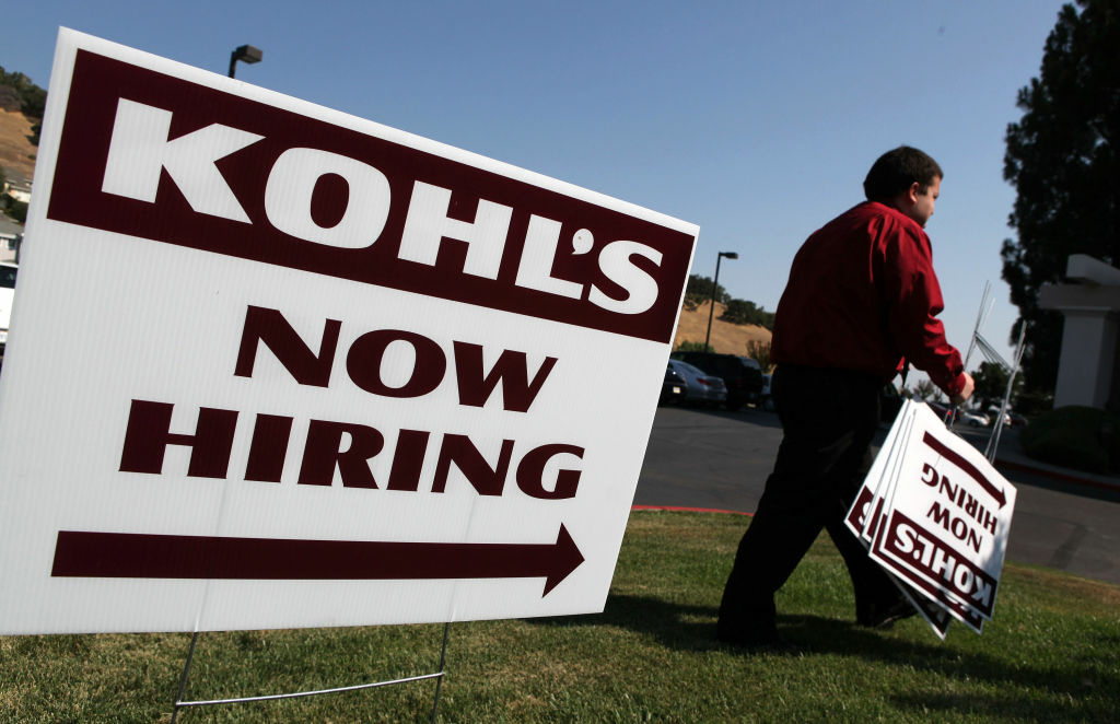 Kohl's department store says it will here 52,700 customer service workers nationwide to assist shoppers during the busy holiday shopping season.