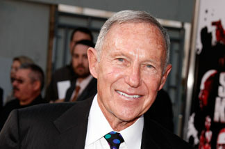 Daryl Gates arrives at the 'Street Kings' premiere at Grauman's Chinese Theater on April 3, 2008 in Hollywood, California.
