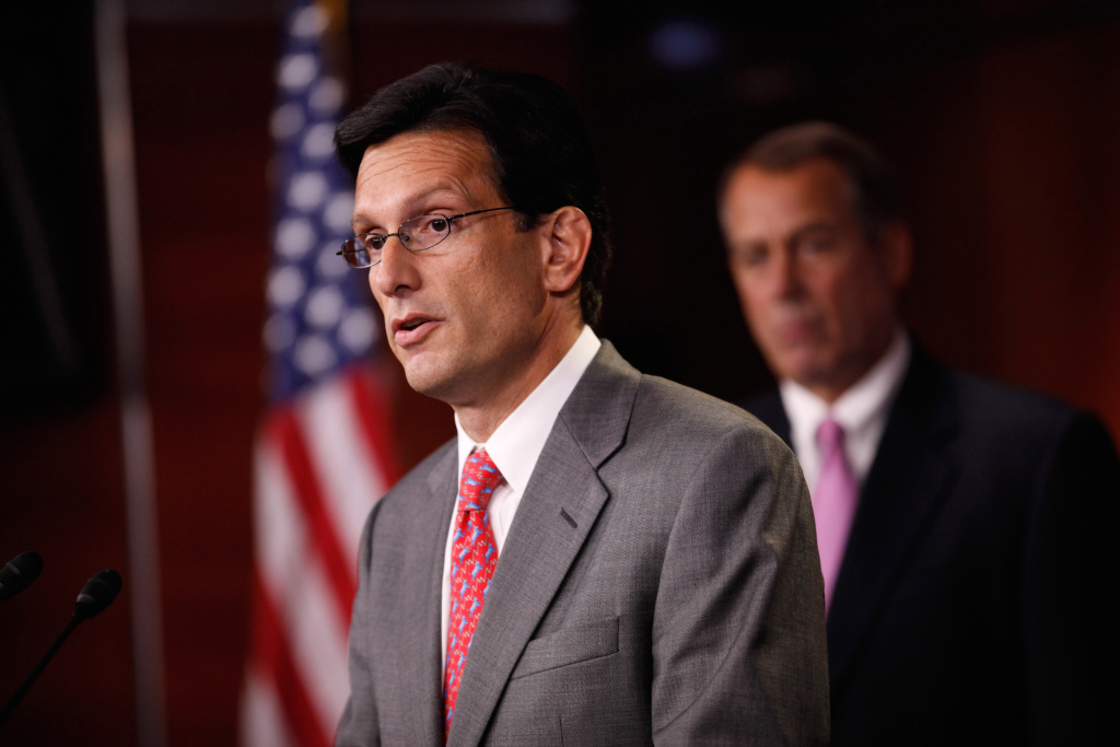 House Majority Leader Eric Cantor expects the House to approve the spending bill which will fund the government through mid-November.