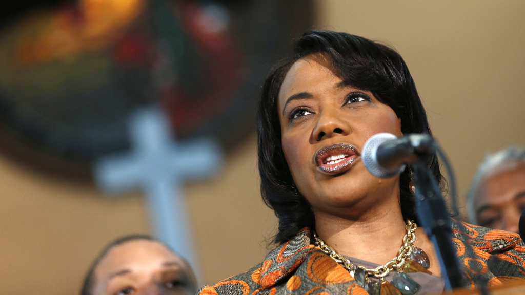 Bernice King is in a protracted legal battle with her brothers over control of their father's bible and Nobel Peace Prize.