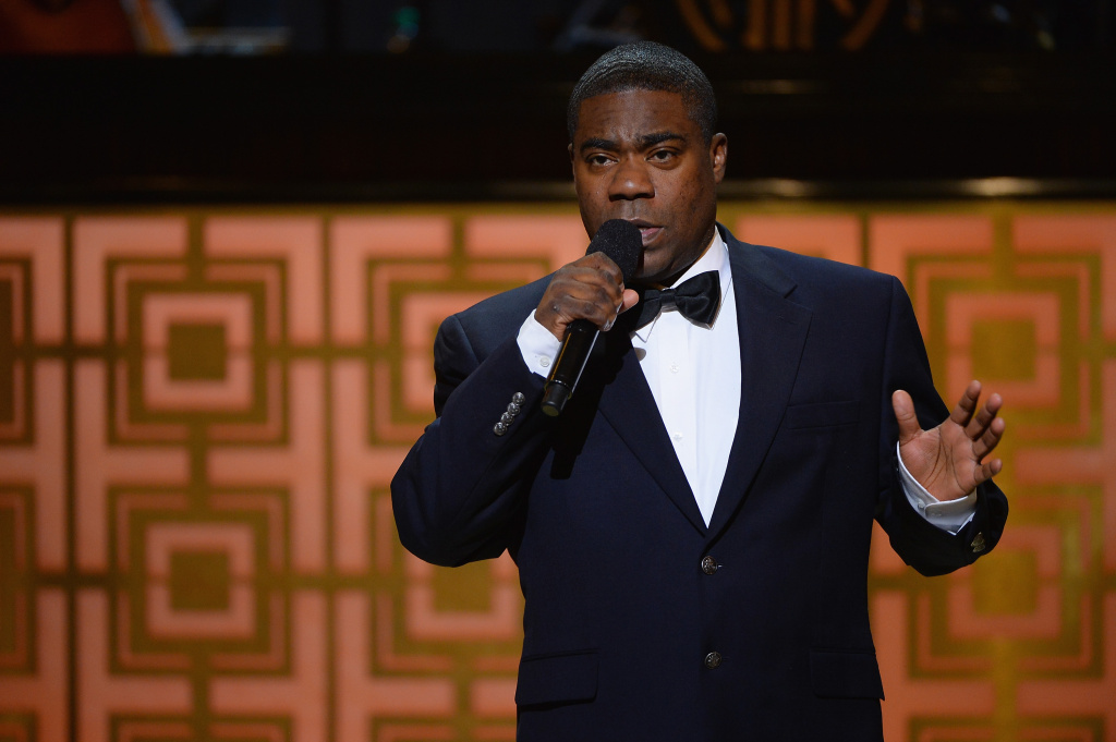 Tracy Morgan speaks onstage at Spike TV's