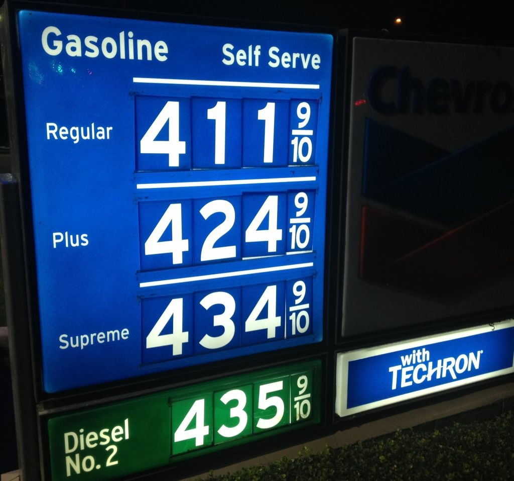 Gas Prices In California >> Gas prices in Southern California keeps rising; Los ...