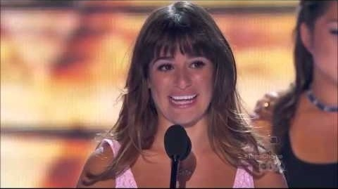 Lea Michele Acceptance Speech - Teen Choice Awards 2013 (HD)