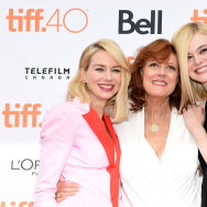 (L-R) Actresses Naomi Watts, Susan Sarandon and Elle Fanning at the premiere of ABOUT RAY in Toronto, hosted Audi and Piper Heidsieck with Entertainment One and The Weinstein Company in Toronto, Canada.