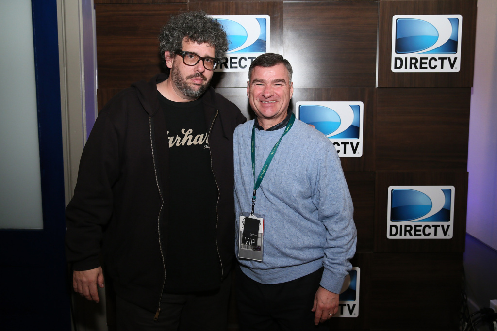 DIRECTV CEO and President Michael White celebrates director Neil LaBute's 10 x 10 shorts hosted by DIRECTV on January 17, 2014 in Park City, Utah.  The New York Times reports that White may leave his position if AT&T buys DirecTV.