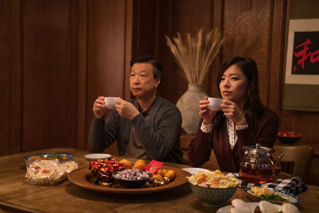 Tzi Ma and Christine Ko in Tigertail.