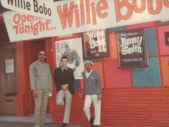 Willie Bobo and his son, Eric Bobo.