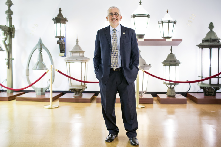 Ed Ebrahimian is director of the Bureau of Street Lighting. The city currently has about 215,000 streetlights installed throughout in Los Angeles.