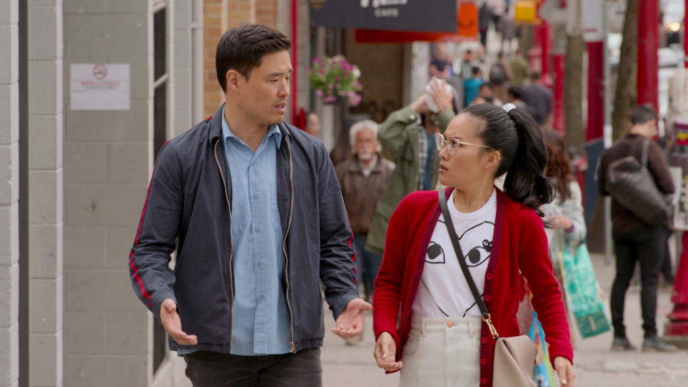 Randall Park and Ali Wong in Always Be My Maybe.