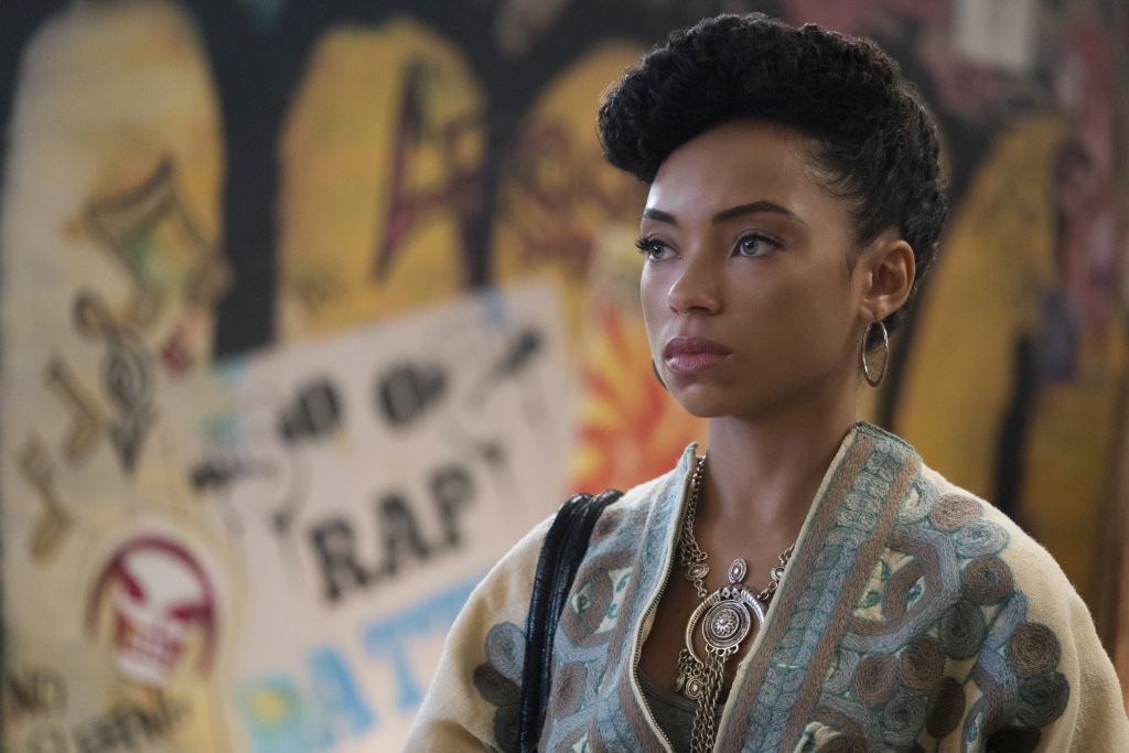 Logan Browning as Sam White in