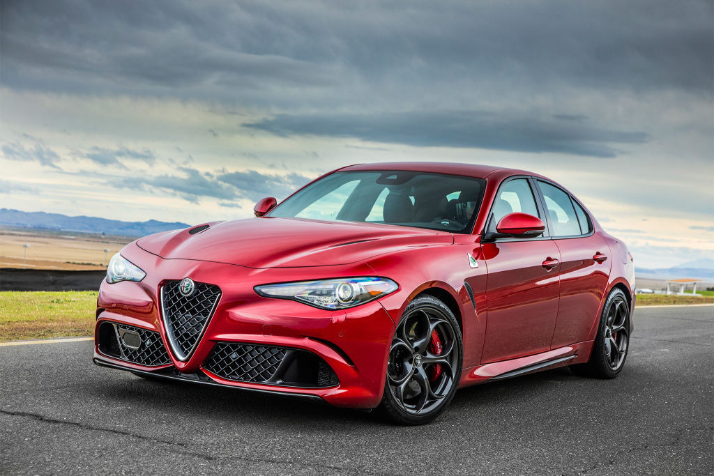 Motor Trend named the Alfa Romeo Giulia 2018 Car of the Year