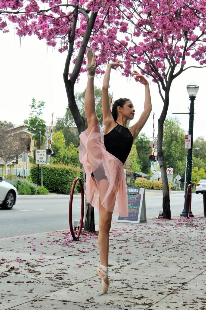 Madeline Czekaj, 15, started formal dance training just a year ago.